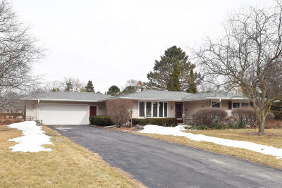 Menomonee Falls Single Family Home Active Contingent With Offer: N78w16094 Carl Ross Dr