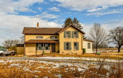 Johnson Creek Single Family Home Active Contingent With Offer: W3706 Krenz Rd