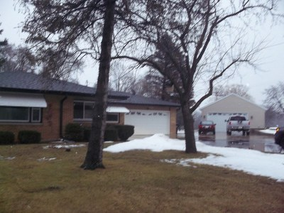 Caledonia Single Family Home Active Contingent With Offer: 8517 County Rd V
