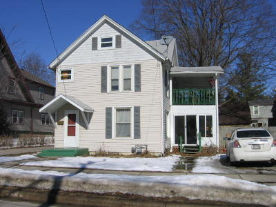 Whitewater Single Family Home Active Contingent With Offer: 314 W North