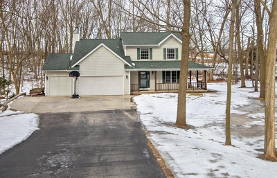Campbellsport Single Family Home Active Contingent With Offer: W2363 Timber Ridge Ct