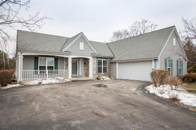 Menomonee Falls Single Family Home Active Contingent With Offer: W155n5375 Balsam Dr
