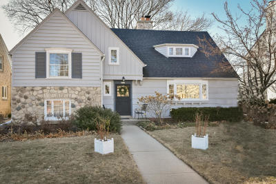 Whitefish Bay Single Family Home Active Contingent With Offer: 5347 N Santa Monica Blvd
