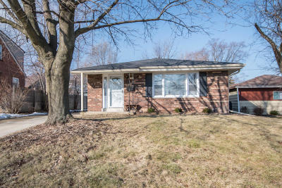 West Allis Single Family Home Active Contingent With Offer: 1211 S 122nd St