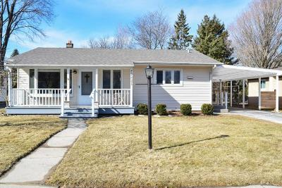 Cedarburg Single Family Home Active Contingent With Offer: W67n395 Grant Ave