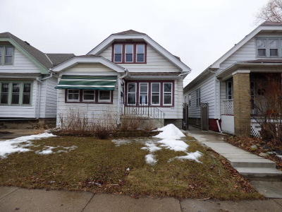 West Allis Single Family Home Active Contingent With Offer: 2052 S 69th St