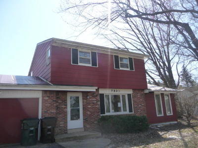 Caledonia Single Family Home Active Contingent With Offer: 7831 Hagemann Rd
