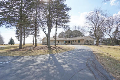 Mequon Single Family Home Active Contingent With Offer: 11125 W Mequon Rd