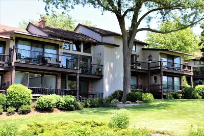 Lake Geneva Condo/Townhouse For Sale: 1070 S Lake Shore Dr #5-A1