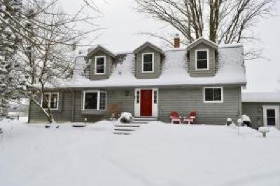 Grafton Single Family Home Active Contingent With Offer: 2165 Maple Rd