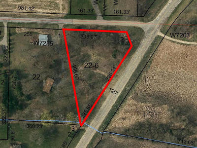 Lake Mills Residential Lots & Land Active Contingent With Offer: Lt2 Weber Rd