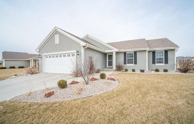 Slinger Single Family Home Active Contingent With Offer: 550 E Farmstead Dr
