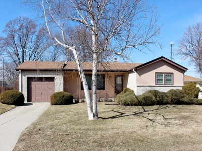 Greenfield Single Family Home Active Contingent With Offer: 6838 W Plainfield Ave