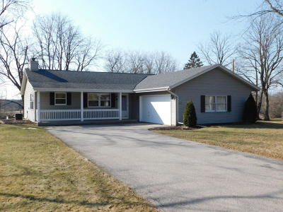 Big Bend WI Single Family Home Active Contingent With Offer: $275,000