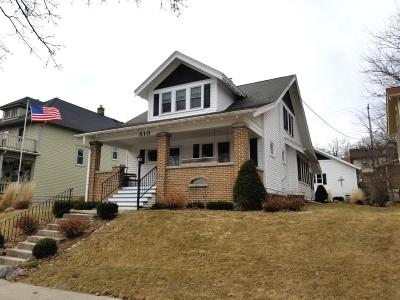 West Bend Single Family Home For Sale: 510 S 6th Ave