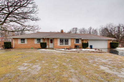 Mukwonago Single Family Home Active Contingent With Offer: 34801 Janesville Dr