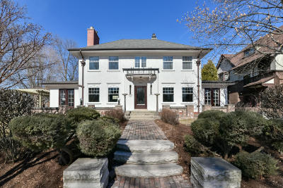 Milwaukee County Single Family Home Active Contingent With Offer: 2500 E Lake Bluff Blvd