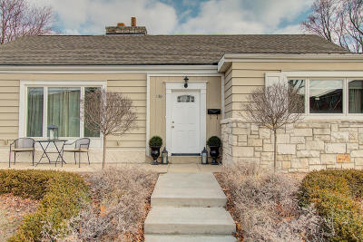 Whitefish Bay Single Family Home Active Contingent With Offer: 150 E Fairmount Ave