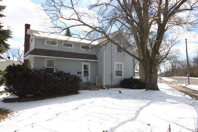 Whitewater Single Family Home Active Contingent With Offer: 531 W Harper St.