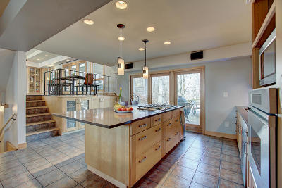 Milwaukee County Single Family Home Active Contingent With Offer: 9500 N Broadmoor Rd