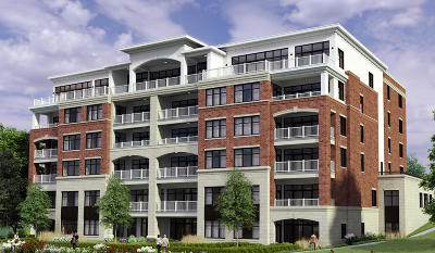 Oconomowoc Condo/Townhouse Active Contingent With Offer: 128 W Wisconsin Ave #302