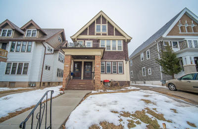 Milwaukee WI Two Family Home For Sale: $324,900
