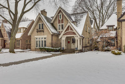 Whitefish Bay WI Single Family Home For Sale: $949,500