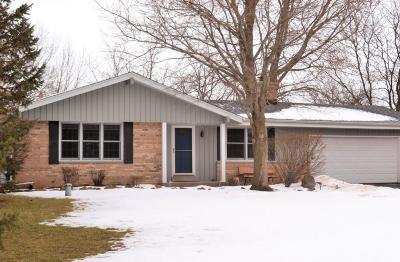 Waukesha Single Family Home Active Contingent With Offer: W245s7360 Heather Ridge Dr