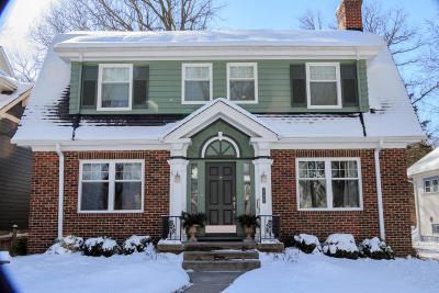 Whitefish Bay Single Family Home Active Contingent With Offer: 815 E Birch Ave