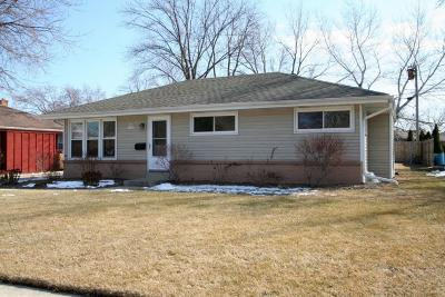 Menomonee Falls Single Family Home Active Contingent With Offer: N89w15313 Jefferson Ave
