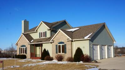 Campbellsport Single Family Home Active Contingent With Offer: N749 Moraine Dr