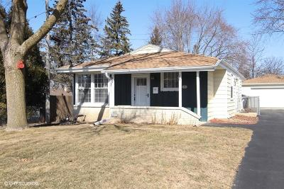 Menomonee Falls Single Family Home Active Contingent With Offer: N84w14792 Menomonee Ave