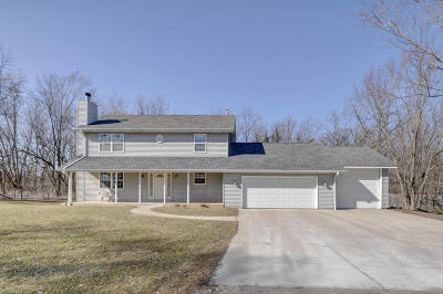 Racine County Single Family Home Active Contingent With Offer: 28916 Plank Rd