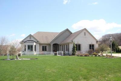 Pewaukee Single Family Home For Sale: W291n4152 Prairie Wind Cir S