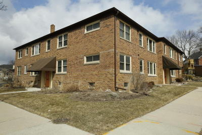 Shorewood Condo/Townhouse Active Contingent With Offer: 4102 N Wilson Dr #1