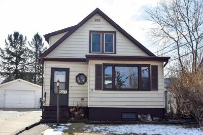 West Allis Single Family Home Active Contingent With Offer: 5847 W Washington St