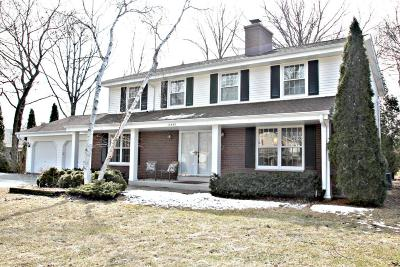 New Berlin Single Family Home Active Contingent With Offer: 13445 W Crawford Dr