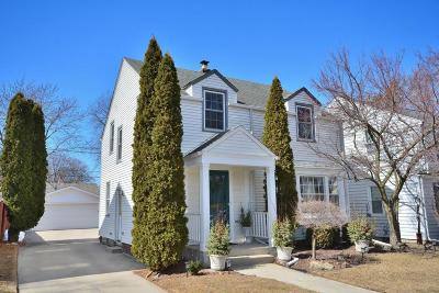 Whitefish Bay Single Family Home Active Contingent With Offer: 4641 N Sheffield Ave