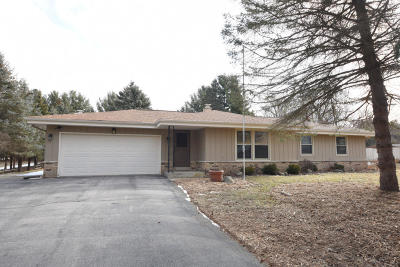 Waukesha WI Single Family Home Active Contingent With Offer: $275,000