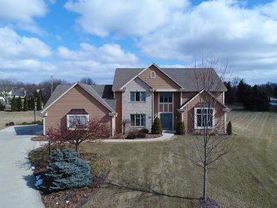 Hartland Single Family Home For Sale: 1025 Woods Dr