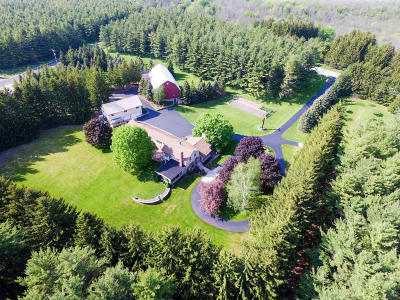 Saukville Single Family Home Active Contingent With Offer: 2839 State Road 33