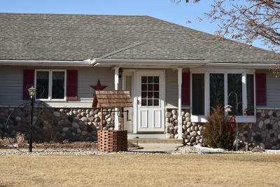 Jefferson County Single Family Home Active Contingent With Offer: N3809 Betschler Rd