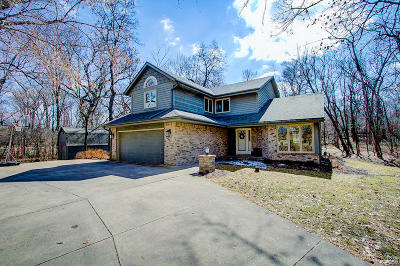 Waukesha Single Family Home For Sale: S42w25050 Oakview Dr