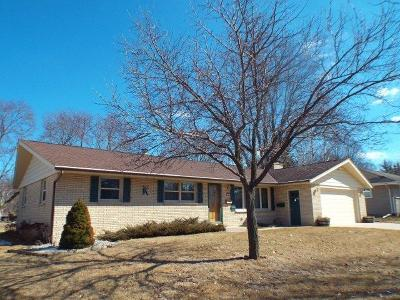 West Bend Single Family Home Active Contingent With Offer: 523 S 16th Ave