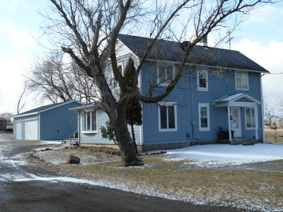 Fort Atkinson Single Family Home For Sale: 5763 W Creamery Rd