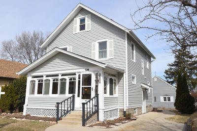 Waukesha Single Family Home Active Contingent With Offer: 134 Wilson Ave