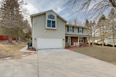 Menomonee Falls Single Family Home For Sale: W140n8073 Lilly Rd