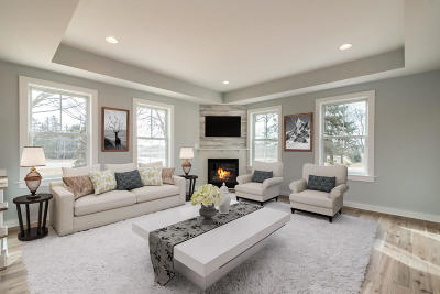 Jackson WI Single Family Home Active Contingent With Offer: $424,900
