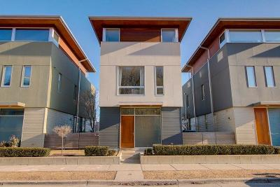 Milwaukee Condo/Townhouse Active Contingent With Offer: 907 E Reservoir Ave
