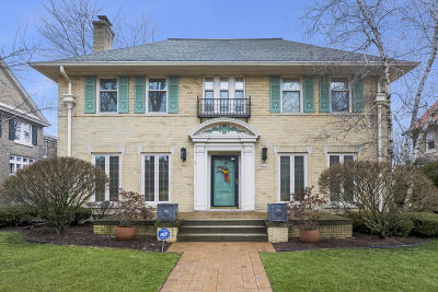 Milwaukee County Single Family Home Active Contingent With Offer: 3515 N Summit Ave